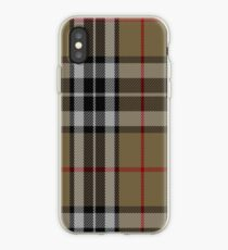 01484 Thomson Camel Fashion Tartan  iPhone Case