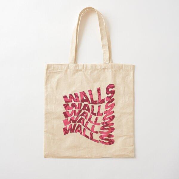 louis tomlinson walls pink Cotton Tote Bag