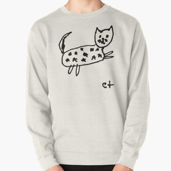 starry cat Pullover Sweatshirt