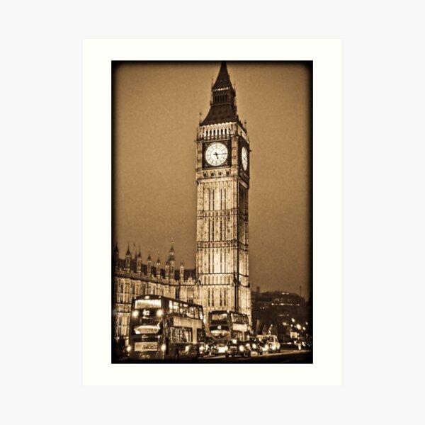 Big Ben - Houses of Parliament - London Art Print