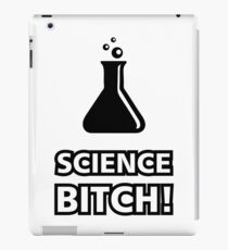 Science Bitch Funny iPad Case/Skin