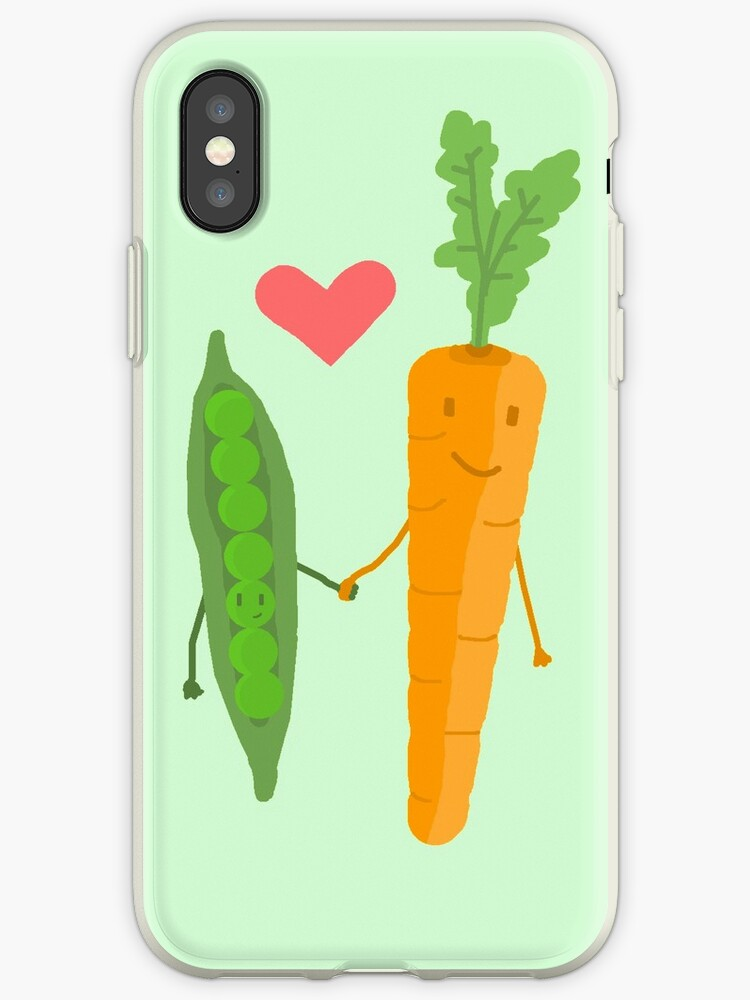 Peas & Carrots in love by Bitxle