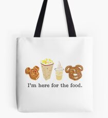 Here for the food. Tote Bag