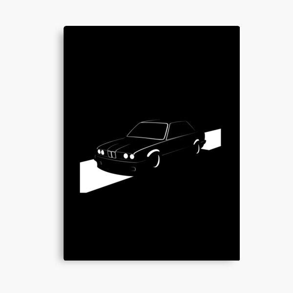 E30 Retro Canvas Print