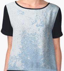 Earth Sweat Design (Airy Blue Color) Women's Chiffon Top