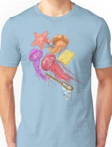 Realism on Jellyfish Fields T-Shirt