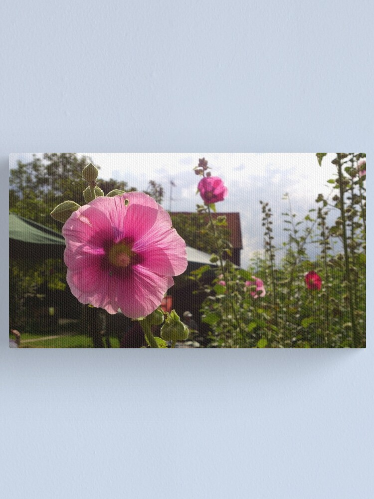 Alternate view of Pink flower power Canvas Print