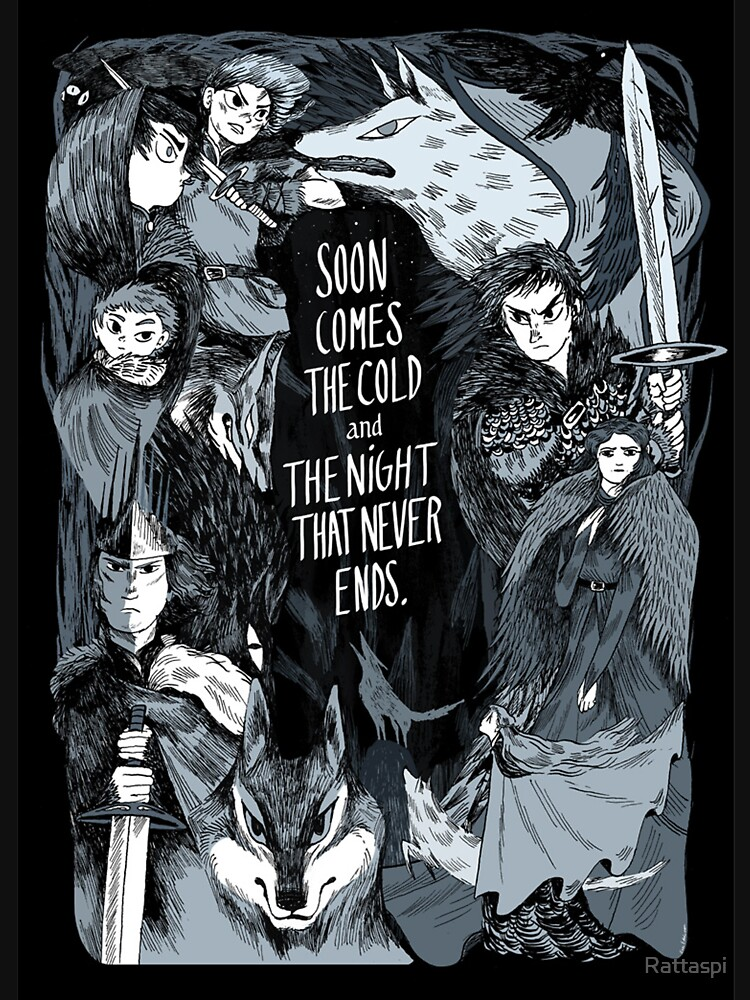 Game Of Thrones Fanart 2 T Shirt By Rattaspi Redbubble