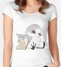 Piper - Baby Sandpiper with Shells Women's Fitted Scoop T-Shirt