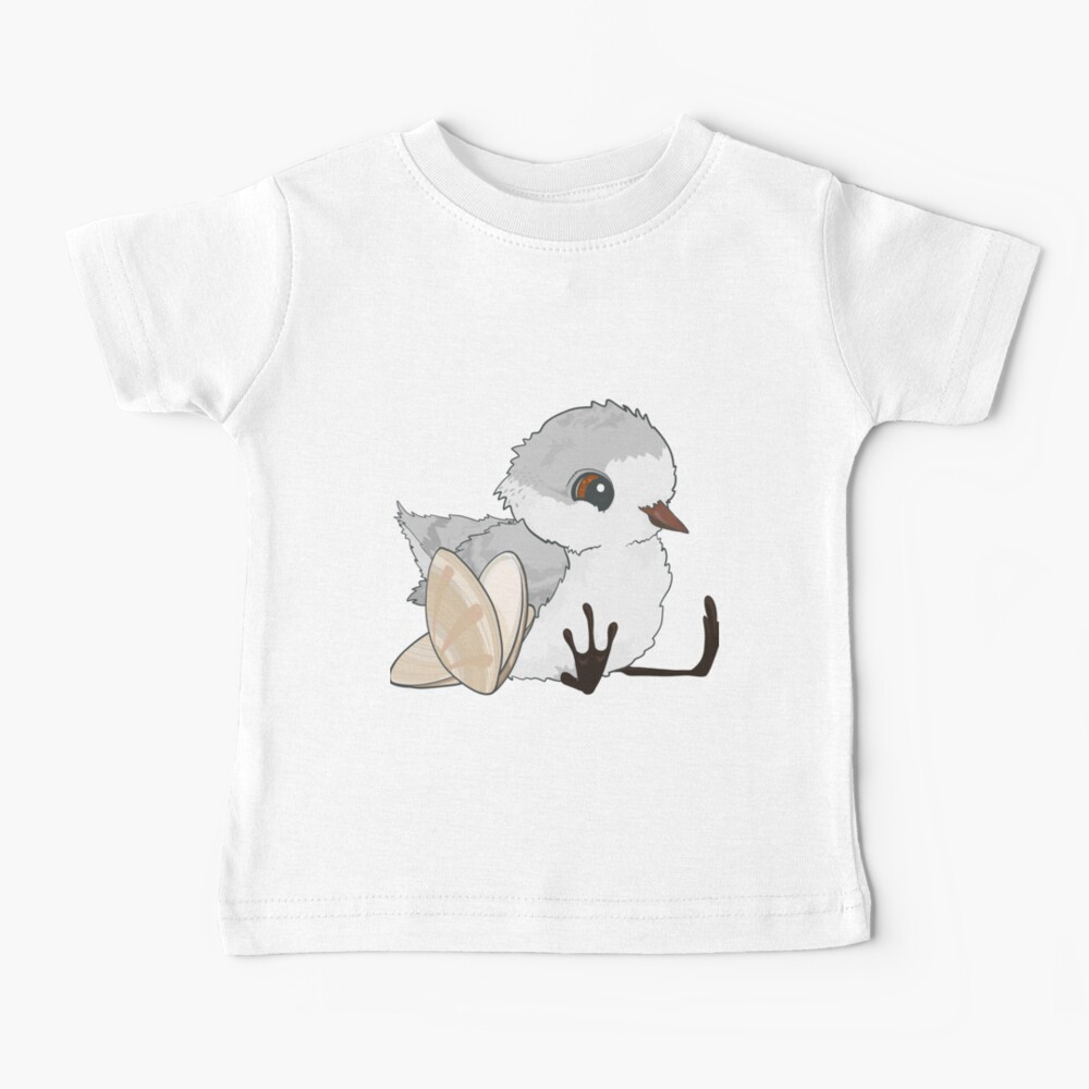 Piper - Baby Sandpiper with Shells Baby T-Shirt