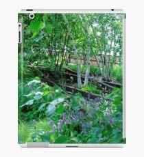 Trees and Track, Horizontal iPad Case/Skin