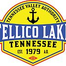TELLICO LAKE TENNESSEE BOATING BOAT TENNESSEE VALLEY AUTHORITY TVA CAMPING HIKING 4 by MyHandmadeSigns