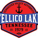 TELLICO LAKE TENNESSEE BOATING BOAT TENNESSEE VALLEY AUTHORITY TVA CAMPING HIKING 5 by MyHandmadeSigns