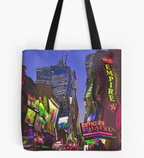 Melting in Times Square Tote Bag