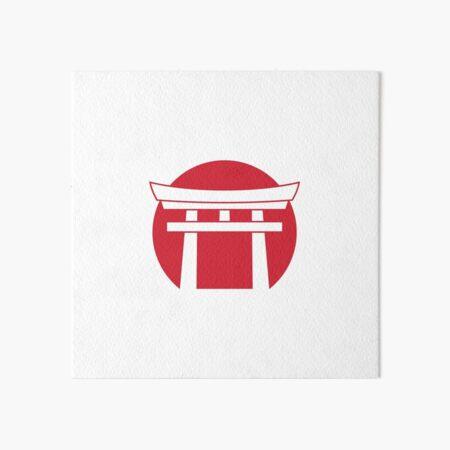 Meiji Academy Logo  Art Board Print