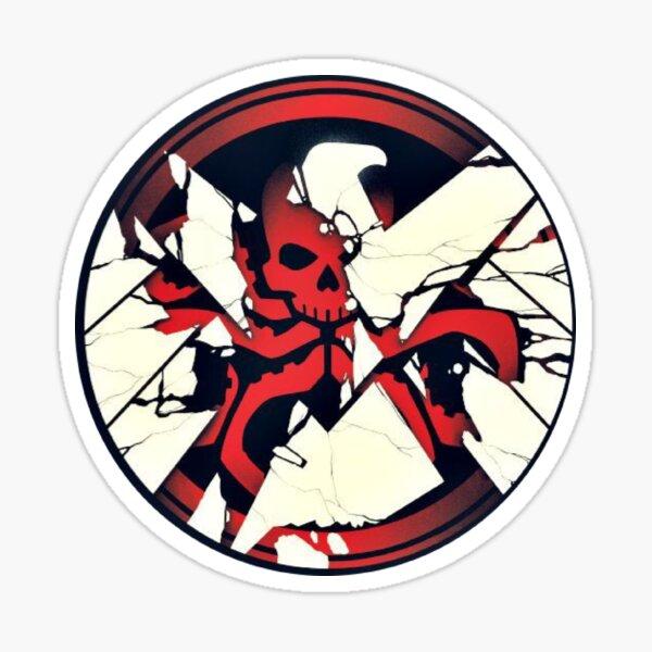 Shield/hydra logo Sticker