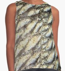 Redfish Scales & Stained Glass Contrast Tank