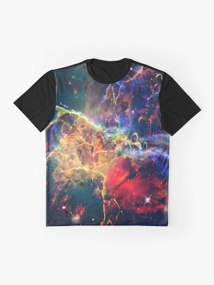 Alternate view of Cosmic Mountain Graphic T-Shirt