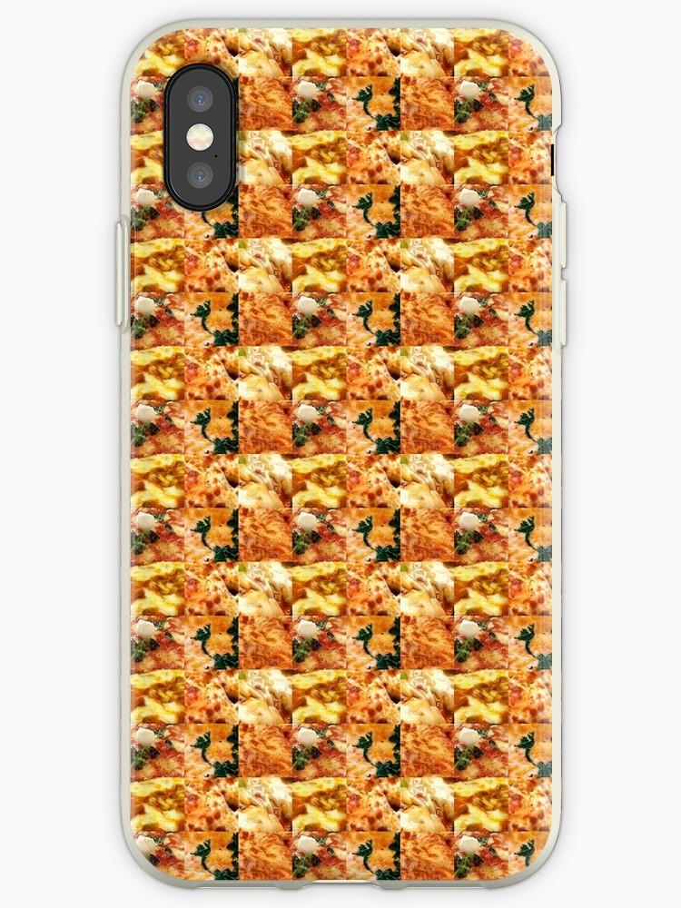 Square Pizza Tile by signaljam