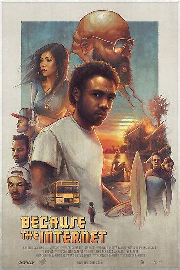 Childish Gambino Movie Poster by Versed