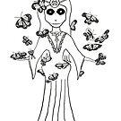 Ereshkigal, Mesopotamian Goddess of the Underworld by QWERTYvsDVORAK
