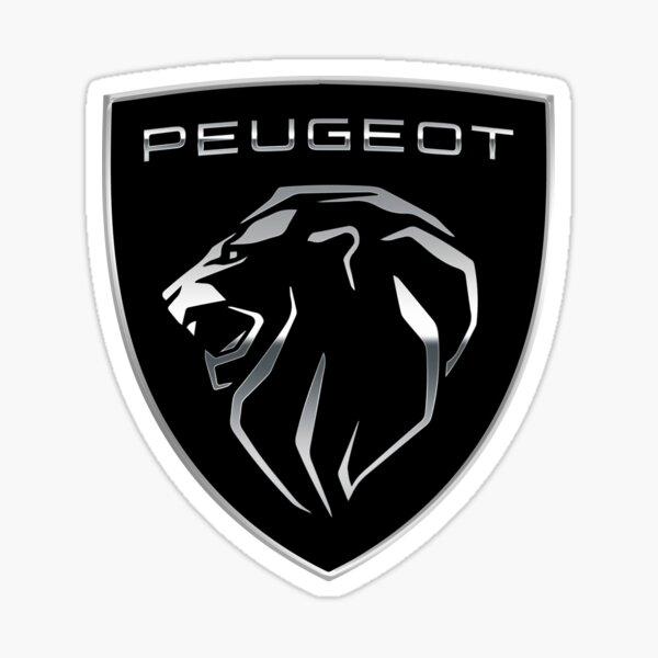 Peugeot emblema del león Pegatina