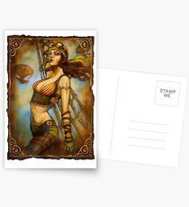 The Airship Captain Postcards