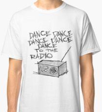 Camiseta clásica Baila a la radio