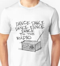 Camiseta ajustada Baila a la radio