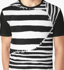 Stripes & Stitches Graphic T-Shirt