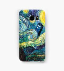 Tardis Starry Night Samsung Galaxy Case/Skin