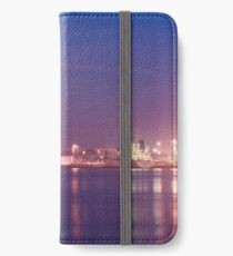 San Diego With Moonrise iPhone Wallet/Case/Skin