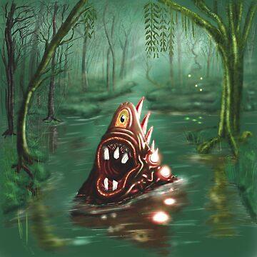 Marsh horror by hananack