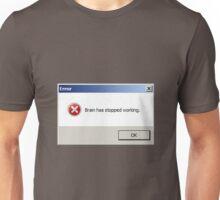 ERROR popup Unisex T-Shirt