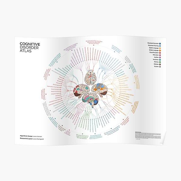 Cognitive Disorder Atlas - Summarized (Landscape) Poster