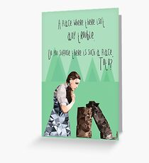 Dorothy and Toto's Place Greeting Card
