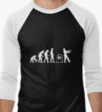Scary and Funny zombie Evolution walking T-Shirt