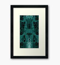 Dark Done Dark Framed Print