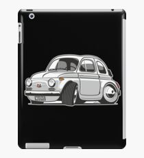 Fita 500 Nuovo caricature white iPad Case/Skin