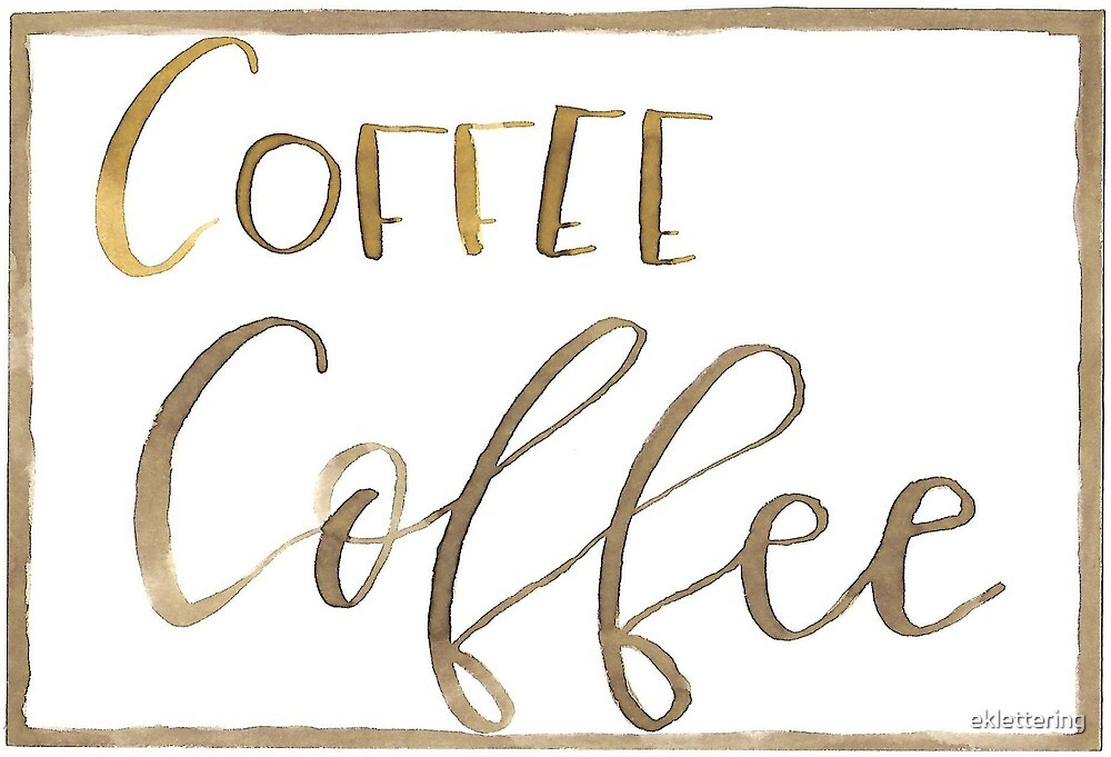 Coffee Squared by eklettering