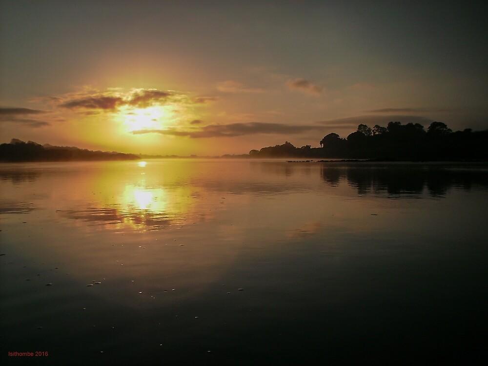 Pioneer River Sunrise, Mackay QLD Australia by IsithombePhoto