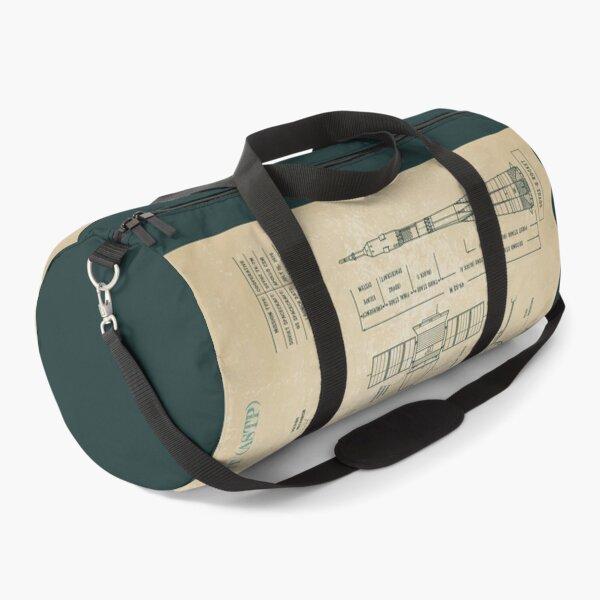 Apollo Soyuz Test Project - ASTP (Parchment) Duffle Bag