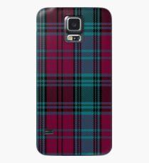 01550 Alma College Tartan Case/Skin for Samsung Galaxy