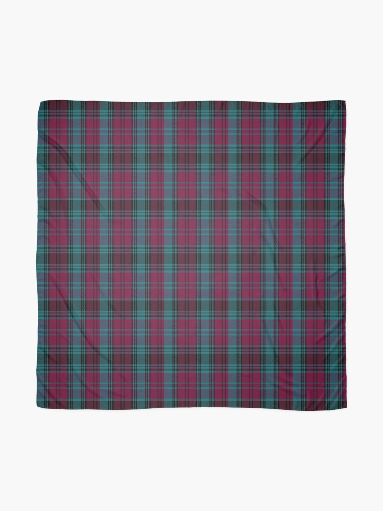 Alternate view of 01550 Alma College Tartan Scarf