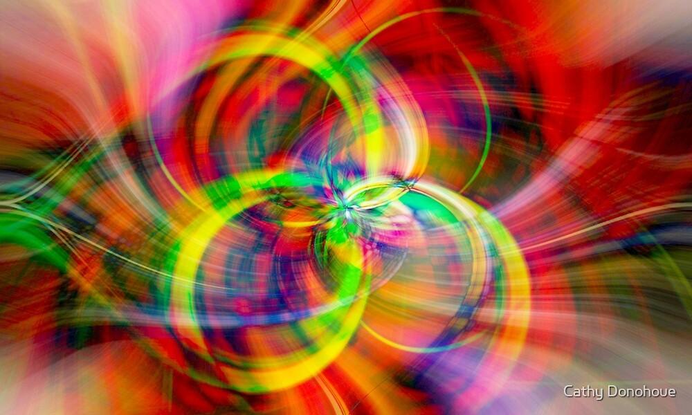 Layered Swirls by Cathy Donohoue
