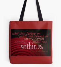 What Lies Within Us © Vicki Ferrari Photography Tote Bag