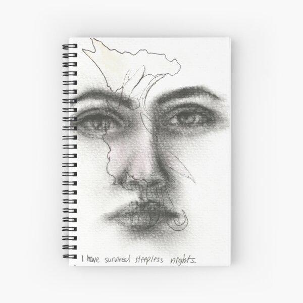 Sleep deprived Spiral Notebook