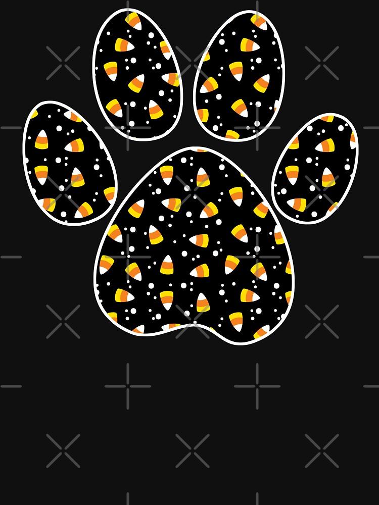 Halloween Dog Paw by NestToNest