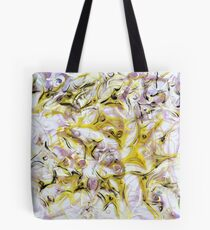 Neurology acrylic painting on panel Tote Bag
