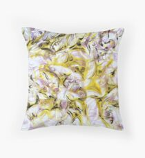 Neurology acrylic painting on panel Throw Pillow